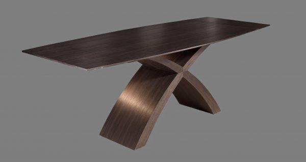 X asztal füstölt tölgy
