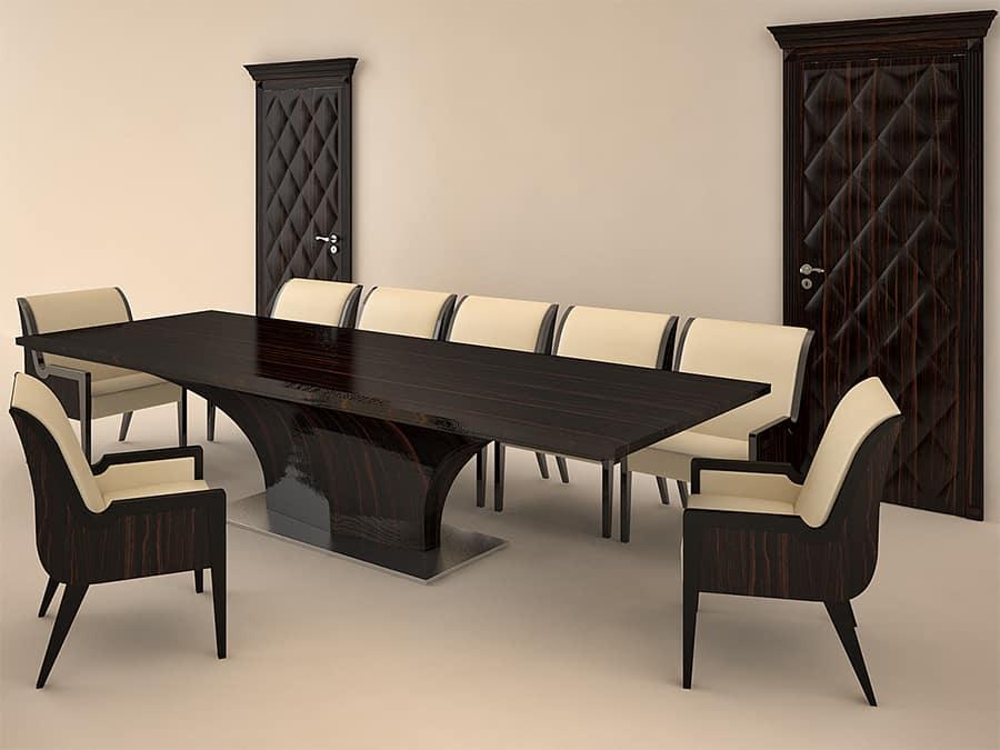 Egyedi bővíthető tárgyalóasztal - Extrém méretekben is