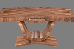 Természetes hazai dió egyedi Art deco íróasztalok webáruház Art deco természetes hazai dió egyedi nagyméretű tárgyalóasztal