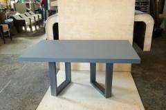 minimál nyitható asztal minimál nyitható asztal Minimál nyitható Cubus asztal, fenix dekor acél lábú asztal, étkezőasztal, modern ebédlőasztal, minimál tárgyalóasztal