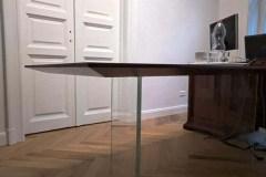 asztal egyedi minimál asztal üveg lábbal cubus asztal szék tárgyalóasztal étkezőasztal (1)