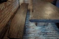 Egyedi rusztikus tömörfa asztalok