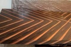 art-deco-ébenfa-tárgyalóasztal-elegáns-klasszikus-design-stílbútor