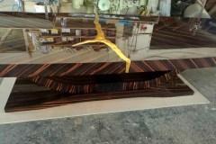 art-deco-makasszar-targyalo-asztal-arany-betet-4-meter