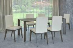 amerikai dió éklábú asztal nyitható bővíthető étkezőasztal ebédlőasztal