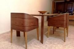 cubus íves karfásdesign étkezőszék tárgyalószék ebédlőszék minimál design szék