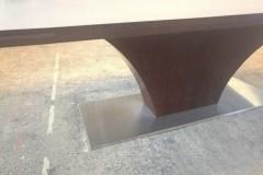 Highland Fenix nyitható egyedi fa étkező és tárgyalóasztal