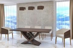 Kehely egyedi bővíthető design asztalok