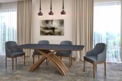dió - fenix x asztal nyitható bővíthető étkezőasztal ebédlőasztal