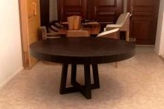 Base-ammara-ében-egyedi-kerek-nyitható-design-étkező-és-tárgyalóasztal 52