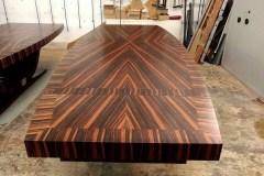 egyedi art deco nyitható bővíthető étkezőasztal nagyméretű tárgyalóasztal ebédlőasztal szék