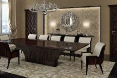Highland asztal: Ammara ében Alpi 10.42 egyedi étkező és tárgyalóasztalok webáruház