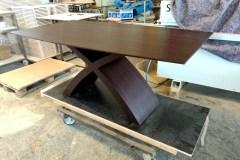 Wenge egyedi nyitható étkezőasztalok webáruház , 180 cm