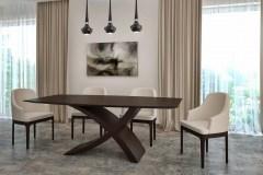 Zeg asztal: Wenge egyedi nyitható ebédlő asztalok webáruház