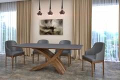 dió zeg asztal nyitható bővíthető étkezőasztal ebédlőasztal