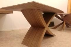 Zeg nyitható étkezőasztal bővíthető ebédlőasztal tárgyalóasztal design