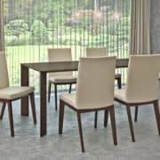 Éklábú Wenge egyedi tárgyaló és konyha asztalok webáruház