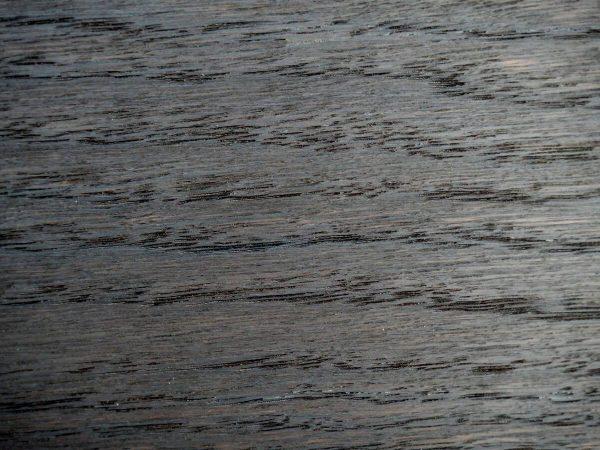 Art deco Füstölt feketetölgy egyedi nagyméretű tárgyalóasztal