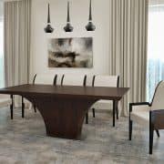 Highland asztal: Wenge egyedi étkező és tárgyalóasztalok webáruház