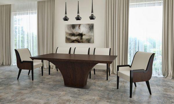"""Highland asztal: """"5"""" wenge"""