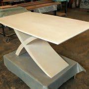 Zeg asztal: Alpi többszörkéselt tölgy, Alpi 10.82 egyedi nyitható ebédlő asztalok webáruház