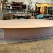 Tárgyaló asztal, amerikai cseresznye 5 méteres.