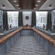 Moduláris egyedi tervezésű bővíthető tárgyalóasztalok webáruház