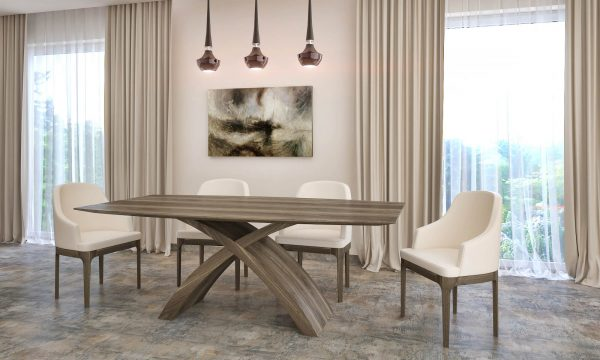amerikai dió x asztal nyitható bővíthető étkezőasztal ebédlőasztal
