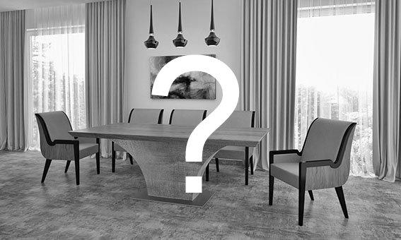 Highland beton lábú egyedi kialakítású ebédlő és tárgyalóasztal választható asztallappal és lábbal