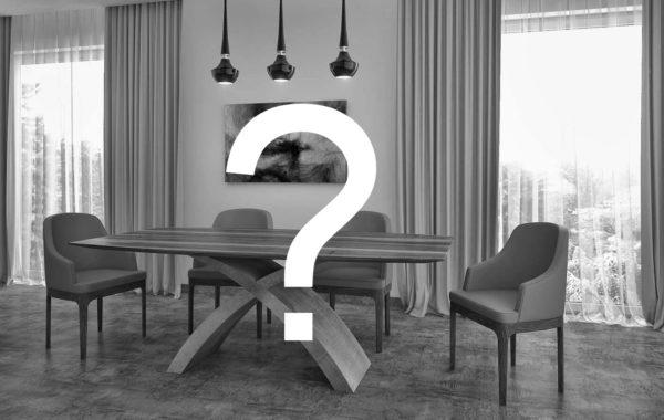 X beton lábú egyedi kialakítású bővíthető étkezőasztal választható asztallappal és lábbal