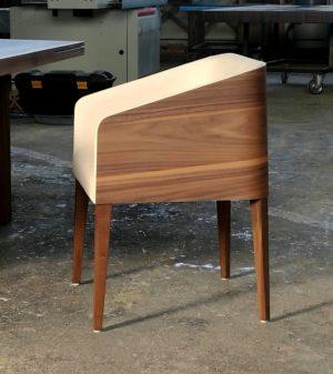 cubus minimál szék, design szék, étkezőszék, ebédlőszék, fa szék, magas karfás szék 39