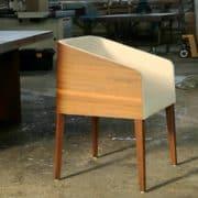 cubus minimál szék, design szék, étkezőszék, ebédlőszék, fa szék, magas karfás szék27
