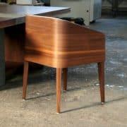 cubus minimál szék, design szék, étkezőszék, ebédlőszék, fa szék, magas karfás szék 23