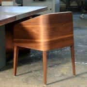 cubus minimál szék, design szék, étkezőszék, ebédlőszék, fa szék, magas karfás szék 19