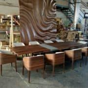 cubus minimál szék, design szék, étkezőszék, ebédlőszék, fa szék, magas karfás szék 43