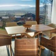 cubus íves karfás étkezőszék tárgyalószék ebédlőszék minimál design szék (1)