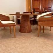 kerek-kör-étkezőasztal-tárgyalóasztal-design-asztal- társalgóasztal