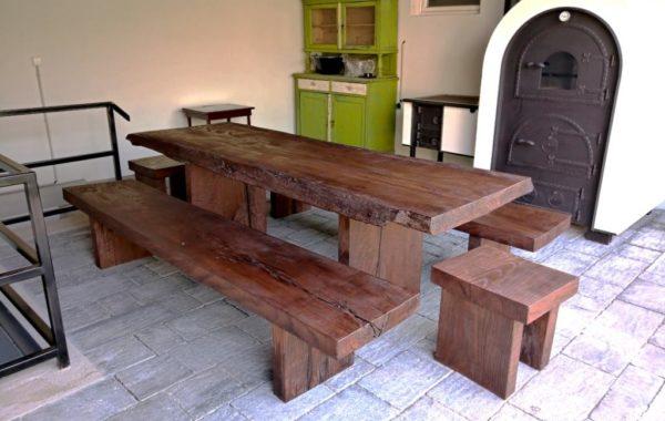 Egyedi rusztikus tömörfa asztalok webáruház