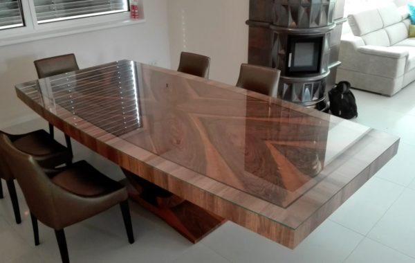 egyedi art deco tárgyalóasztal ebédlőasztal íróasztal szék