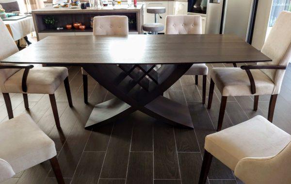 reverz, kehely étkezőasztal tárgyalóasztal bővíthető ebédlőasztal