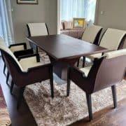Highland egyedi nyitható étkezőasztal tárgyalóasztal ebédlőasztal